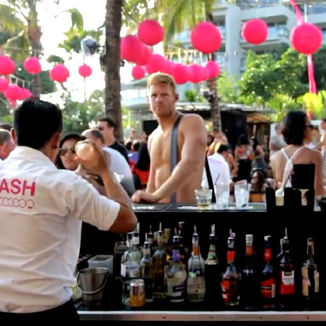 Its the last one for 2014... Dont miss it. SPLASH Sunday 16th of November: Limited VIP seating with full bottle service available: email info@cocoon-beach.com to reserve your space: Splash 17th of August 2014 It may have been the best yet...Bali loves SPLASH..Bought to you by our friends at Midori and Niconico Swimwear  hit the HD button for a clearer view xx — at Cocoon Beach Club. please click for detail video http://on.fb.me/1zIxHJP