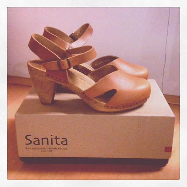 Ulrika wood heel #sanita #clogs #shoes