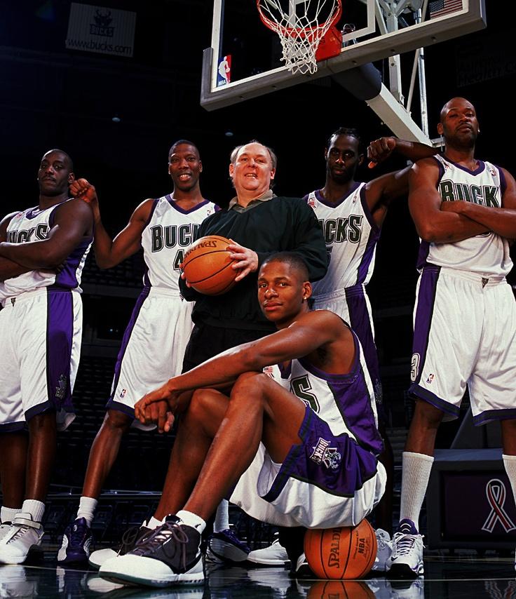 2000s Era Bucks: Anthony Mason, Ervin Johnson, George Karl, Tim Thomas, Glenn Robinson & Ray Allen