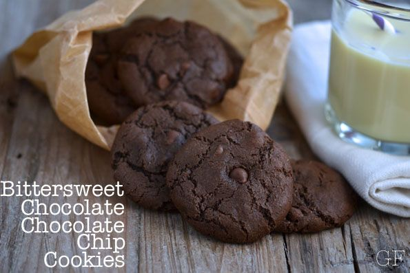 Gluten-Free Bittersweet Chocolate Chocolate Chip Cookies