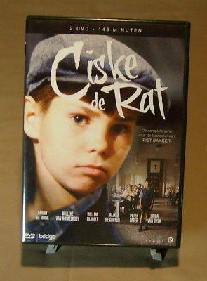 Ciske de Rat 6 Episode DVD Set PAL Format Region 2 (Not USA) Foreign Netherlands