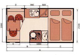 Euro flatbed truck camper - husky 235   bimobil von liebe gmbh - wohnmobile reisemobile pickup caravan camping gebrauchte