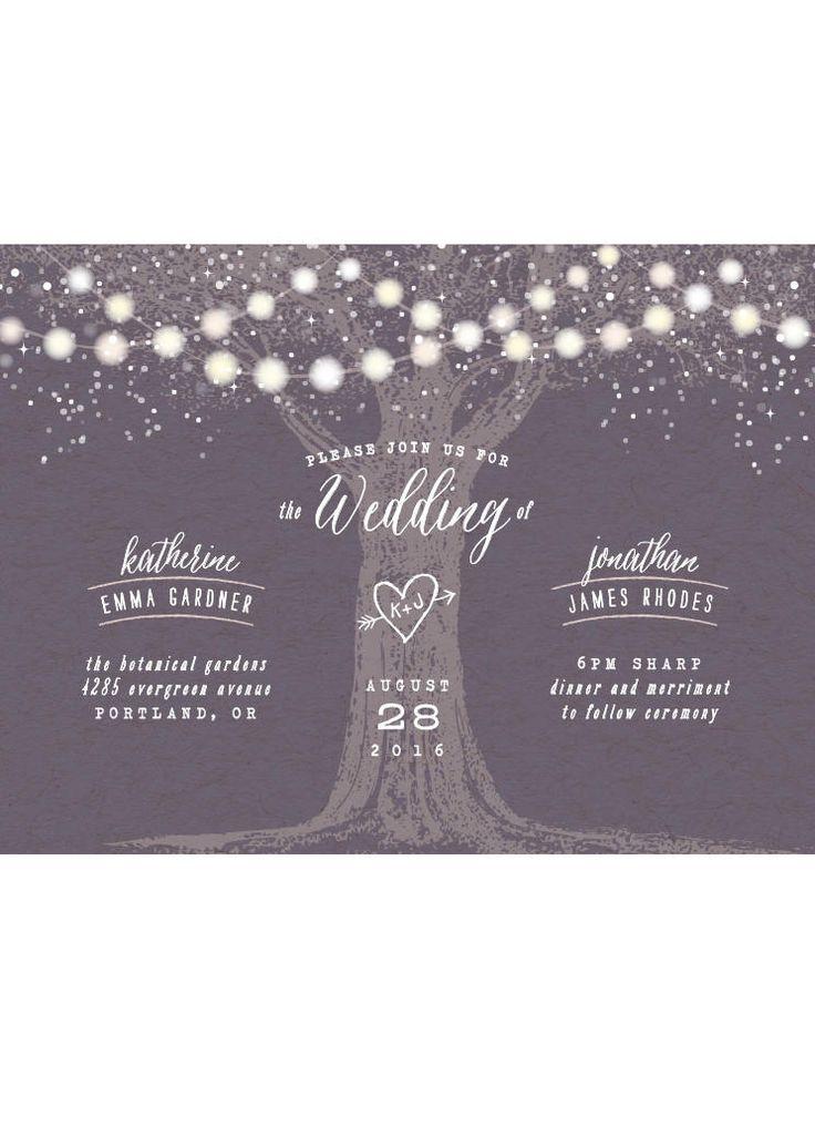 creative wording for rehearsal dinner invitations%0A Garden Lights Wedding Invitation Minibook    C