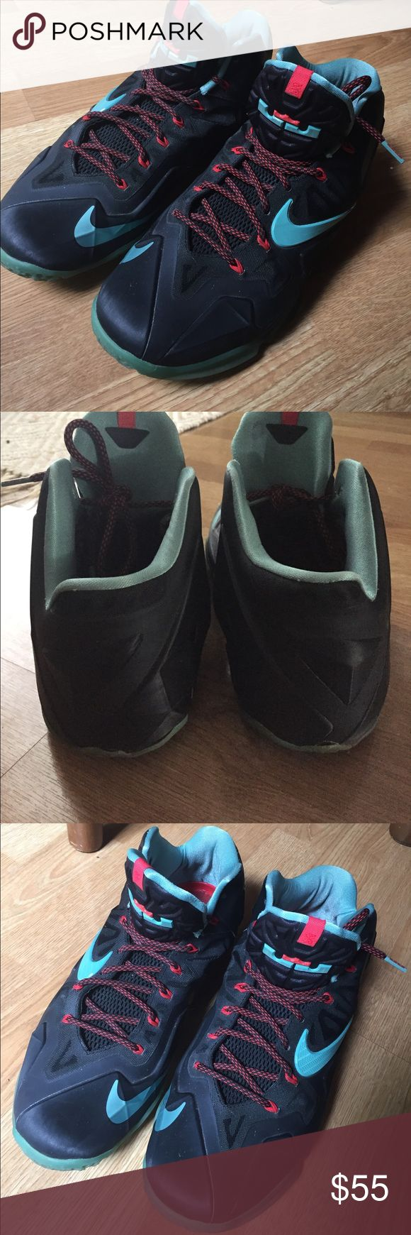 Nice Lebrun James shoes Good condition, well taken care of. Only little dirty in the inside but outside looks great. Nike Shoes Sneakers