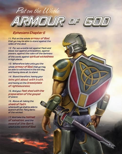 Image result for images of the full armor of god