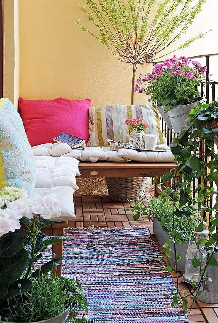 350 best images about balcony and rooftop gardens on - Flowers for apartment balcony ...