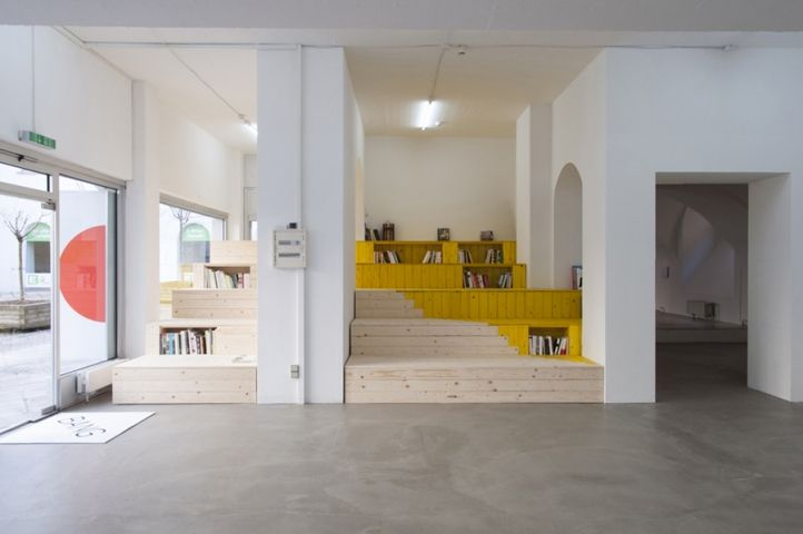Things That Go Without Saying by Céline Condorelli and Harry Thaler, Reading Steps Combine a Library, Bookstore and Exhibition Space