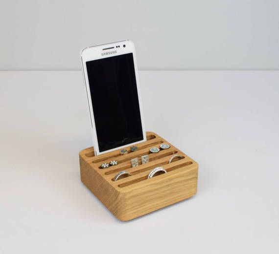 Phone Stand Card Holder Ring Holder Jewellery by BeamDesigns