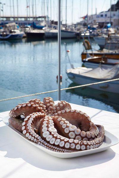 Seafood Dishes in Mikrolimano, Piraeus