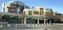 Visiting Scottish Parliament