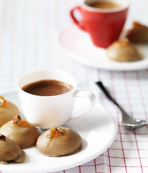 Australian Gourmet Traveller Italian sweets recipe for espresso-glazed biscotti