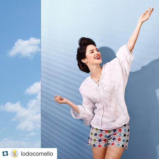 #Repost @lodocomello with @repostapp. ・・・ Enjoying these sunny days with a total @120percento linen look  #120percento #120lino #summer #linen