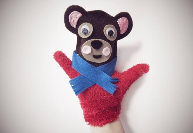 bear glove puppet