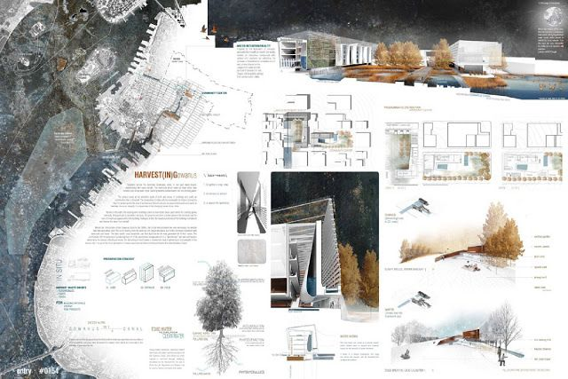 landscape architecture competition boards   1st Place Category: Architectural Design