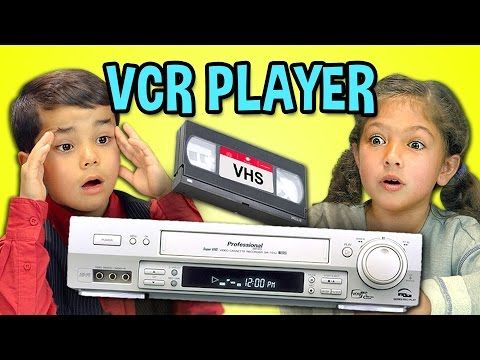 KIDS REACT TO VCR/VHS : Now I know how my parents felt when I asked what an icebox was.