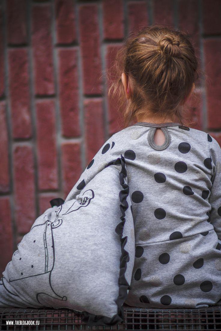theblogbook | sewing | sweater dress with dots, kibadoo, lillestoff, kluntjebunt