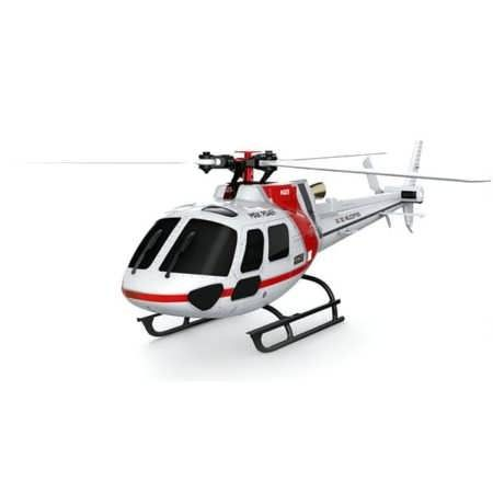 XK K123 6CH Brushless AS350 3D6G System RC Helicopter BNF (Compatible with FUTABA S-FHSS)    Description: Brand: XK Height: 77mm Length: 238mm Rotor diameter: 244mm Flying weirht: 79.5g Flying time: About 5min Charging time: 30-60min Control Distance: 150m Battery: 3.7V 500mAh 25C li-po Package...