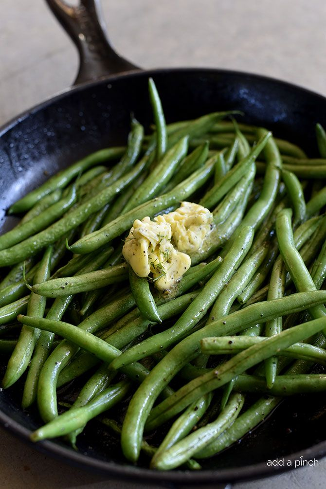 These Skillet Green Beans with Dill Herbed Butter makes a quick and easy side dish perfect for a weeknight meal or when entertaining!  My family loves green beans and this easy recipe is absolutely one of my favorites! So quick and easy to make, they are ready and on the table in 15 minutes! Yes,...