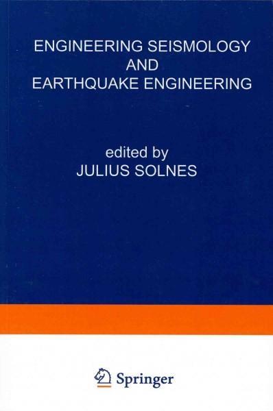 Engineering Seismology and Earthquake Engineering