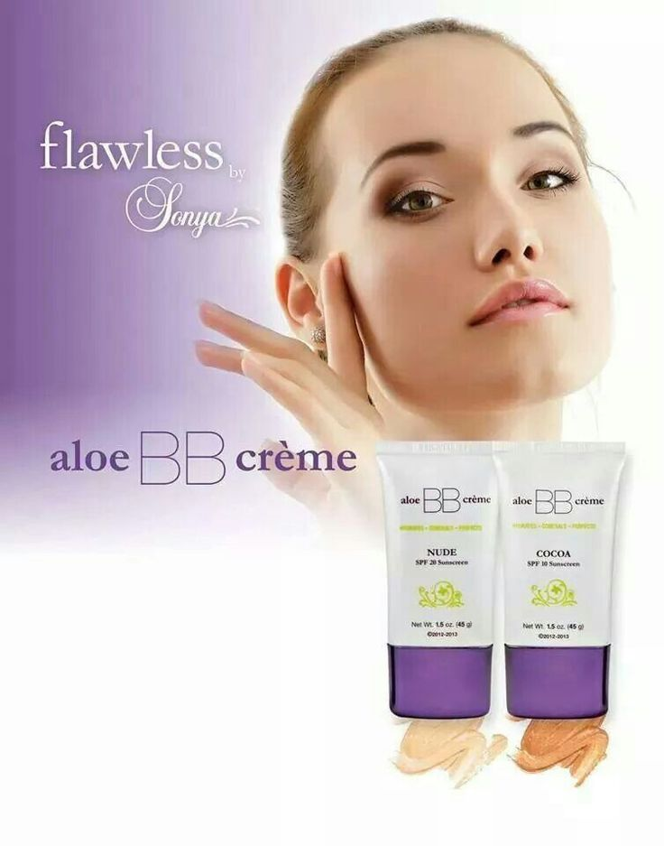 Aloe BB creme, brings out the flawless in you. The makeup bag is not complete without it.