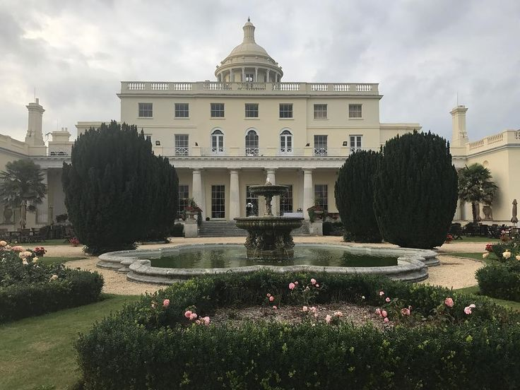 Bridget Jones Diary or James Bond anyone?  Our home for the next few days at Stoke Park   Follow: @redvelvetrope -  @hrhpayn - Have you been to this resort? - Tag #redvelvetrope to be featured - #beautifulhotels  #luxurioustravel