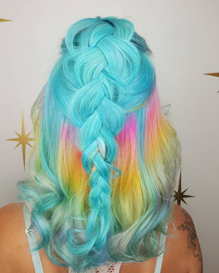 124 best images about RAINBOW HAIR on Pinterest | Guy tang ...