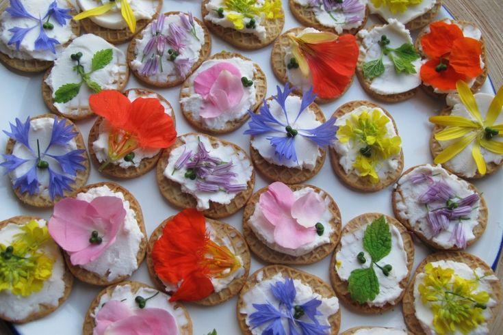 Mevrouw Onkruid | Eetbare bloemen