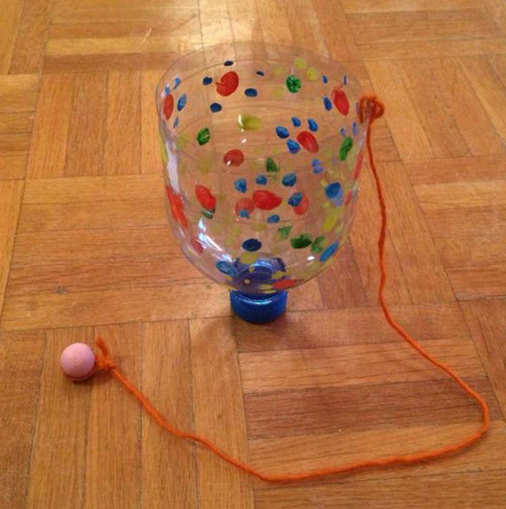 Ball-Fänger aus Petflasche