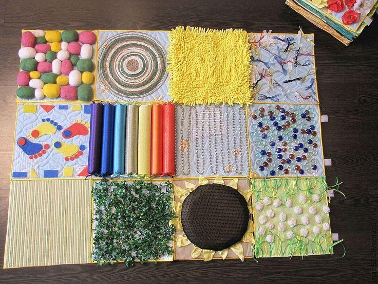 Купить Массажная дорожка из модулей. - массажная дорожка, развивающий коврик, развивающие игры, развивающая игрушка