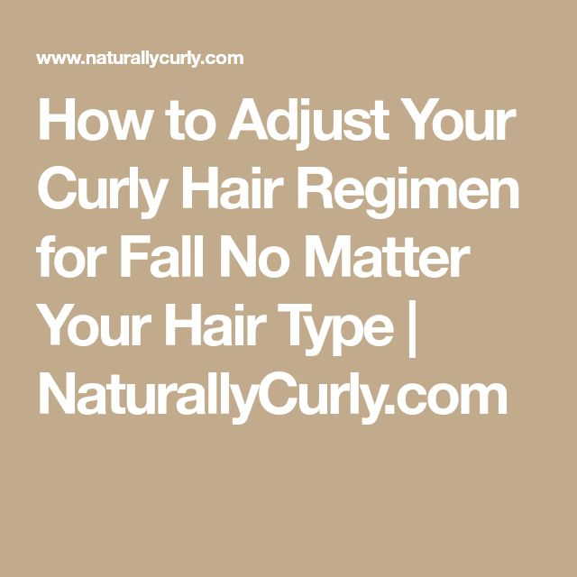 How to Adjust Your Curly Hair Regimen for Fall No Matter Your Hair Type