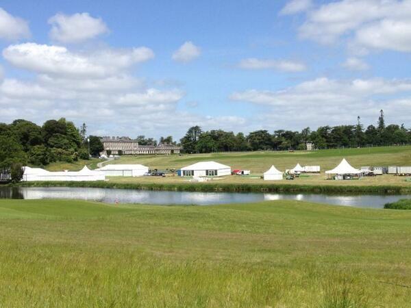 Golf Ireland - a highlight of the Irish Open tented village
