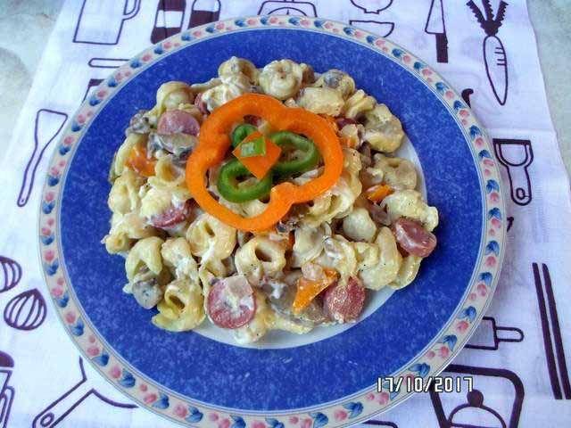 Τορτελίνια φούρνου special #tortelinia #fournou #cookpadgreece