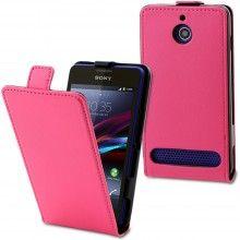 Forro Sony Xperia E1 Muvit Slim Rosa $ 52.300,00