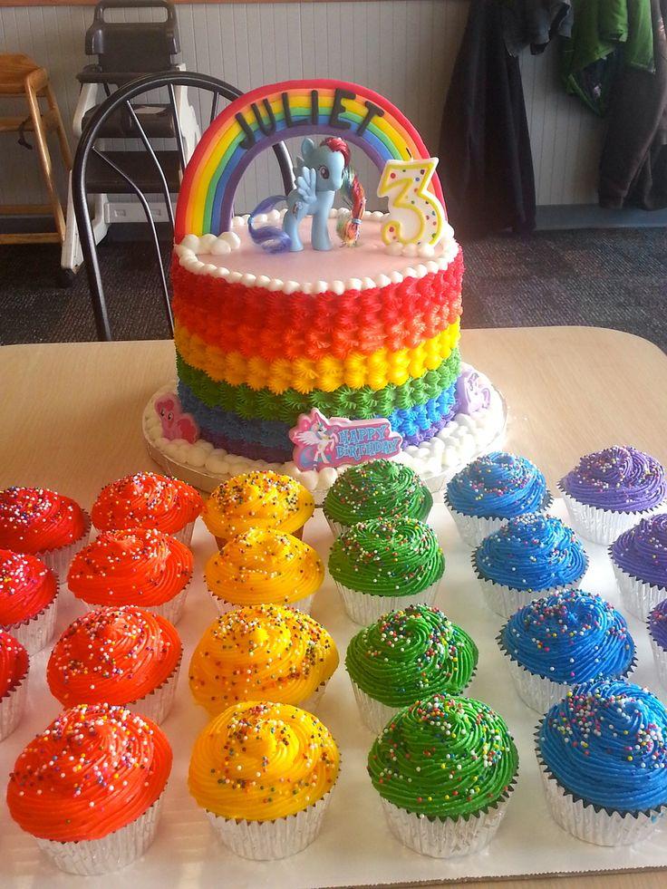 Rainbow My Little Pony Cake