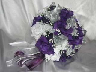 Weddings Purple And Silver