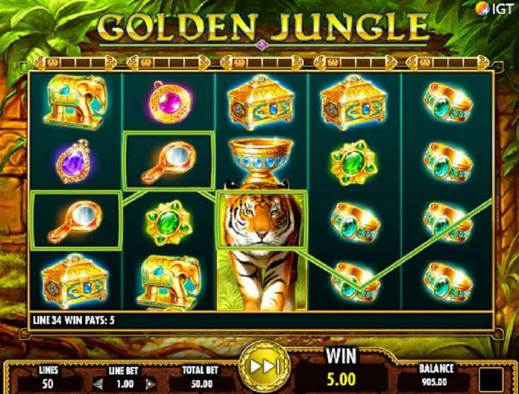 Play online video slot machine Golden Jungle and all of the most sought-after online casino games online. #onlinevideoslotmachine #GoldenJungle
