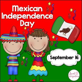 Mexican Independence Day is a holiday celebrated even more than Cinco de Mayo by Mexican Americans. I've provided a Powerpoint which is great an informational text and cultural heritage study. This Powerpoint includes: - general information about Mexico and it's flag - history of the Mexican Independence - other