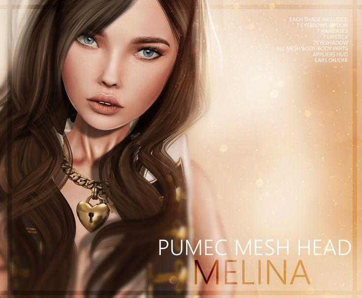 **[PUMEC]  - .:MELINA:. - MESH HEAD <3 | by PUMEC