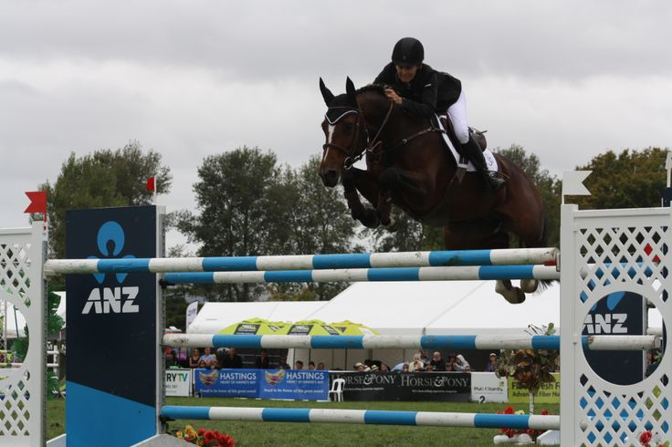 Samantha McIntosh and Estina were second equal in the Olympic Cup