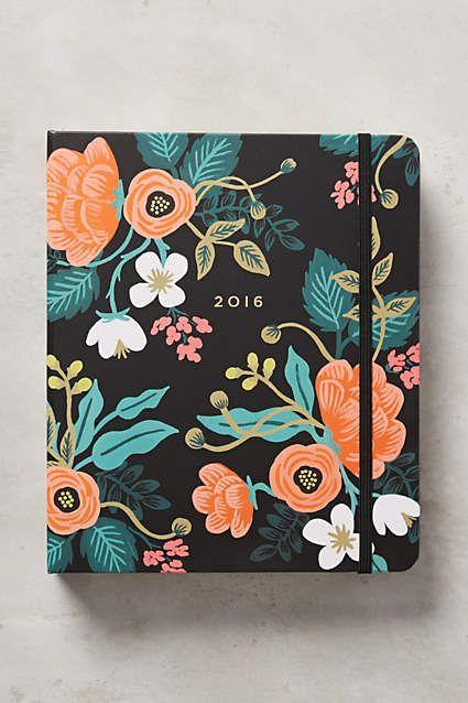 2016 Planner by Rifle Paper Co.