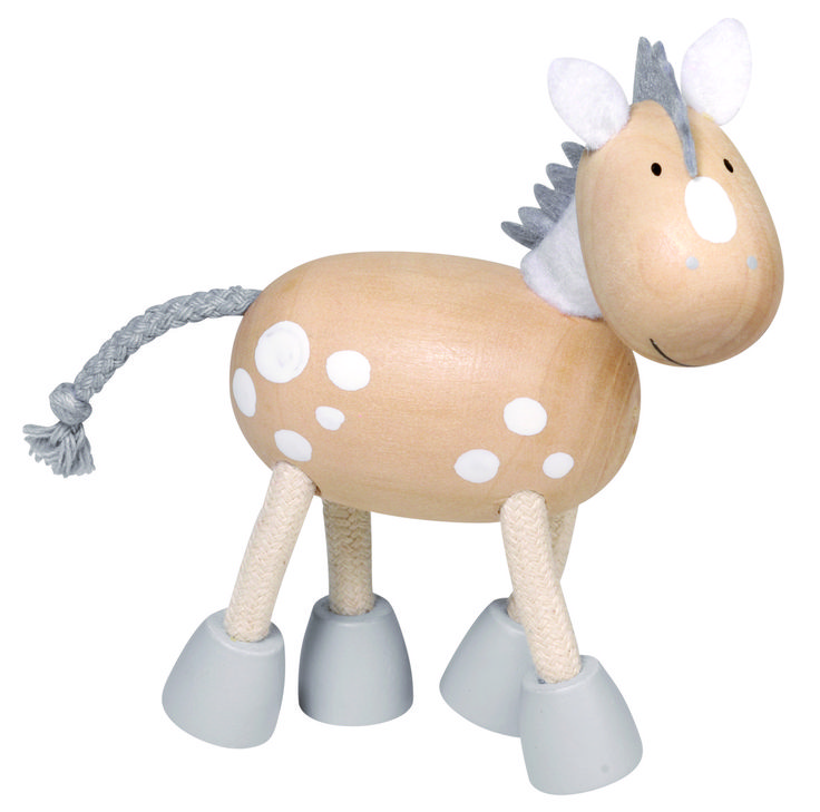 Natural and high quality toys to the development of the skills of children. Olivia. She is such a lovely horse.  http://www.toys4skills.com/categories/flexible-animals/horse-olivia.html