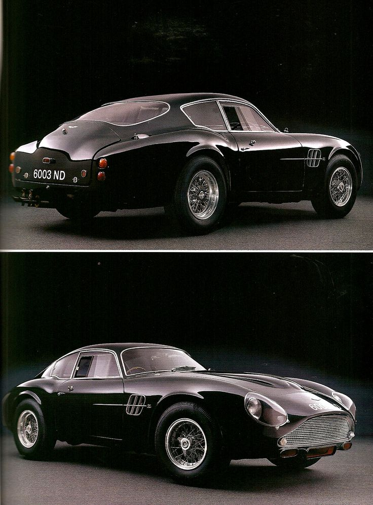 1961 Aston Martin DB4 GT Zagato is a Masterpiece in automotive engineering