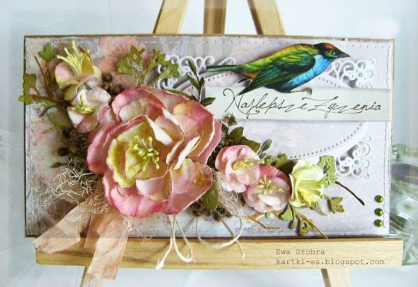 Magiczna Kartka: Kolorowe ptaki..
