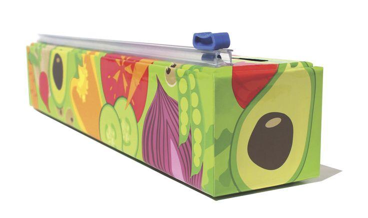 ChicWrap - Veggies - Plastic Wrap, $13.00 (http://www.chicwrap.com/veggies-plastic-wrap/?/)