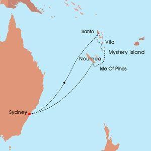 New Caledonia & Vanuatu Carnival Spirit  www.dccruising.com.au