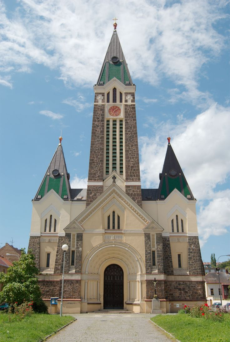 The church of The Holliest Heart of The Lord in Brno-Husovice (South Moravia), Czechia