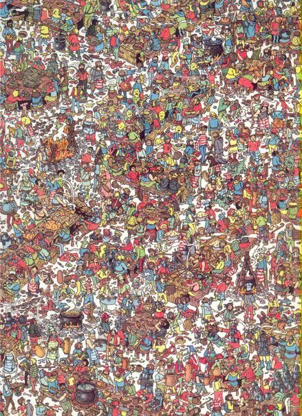 Where's Wally - Martin Handford How many hours did it take to draw a Where's Wally book?
