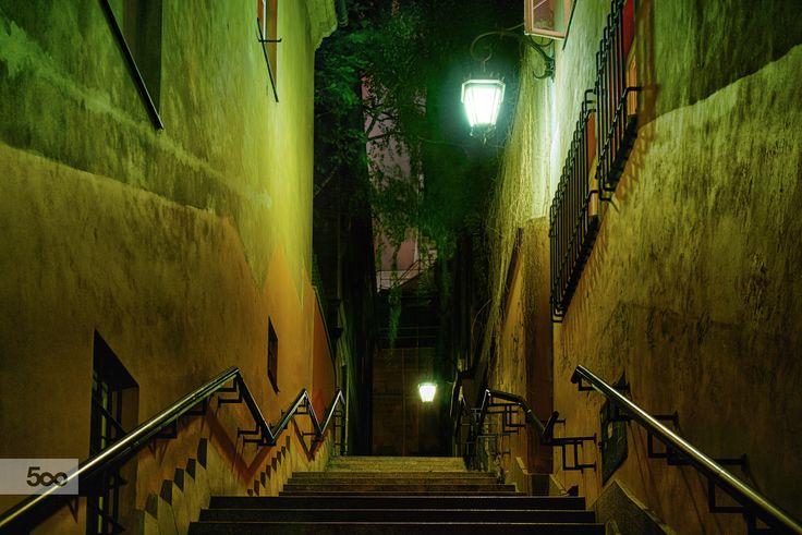 Good choice... up or down? by Sebastian Rudnicki on 500px