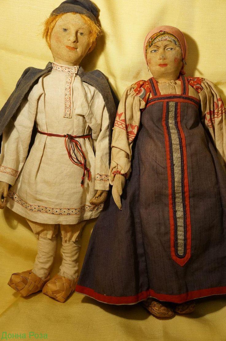 Куклы антикварные.