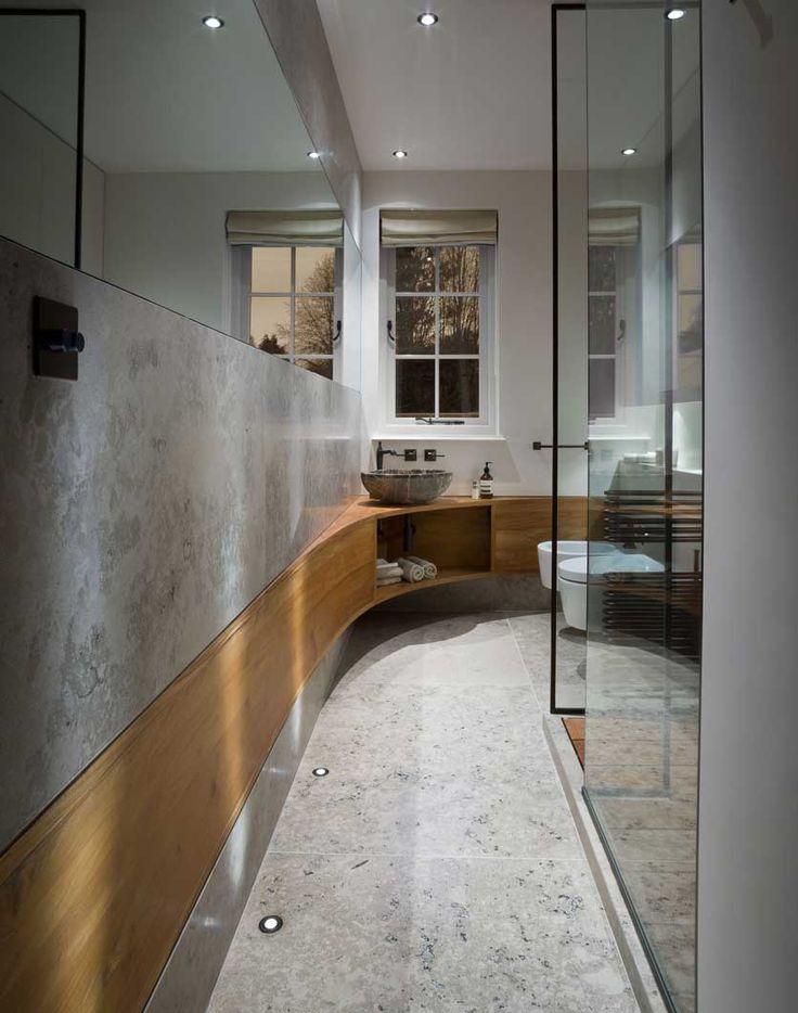 Best 25 Small Narrow Bathroom Ideas On Pinterest  Narrow Unique Small Narrow Bathroom Design Decoration